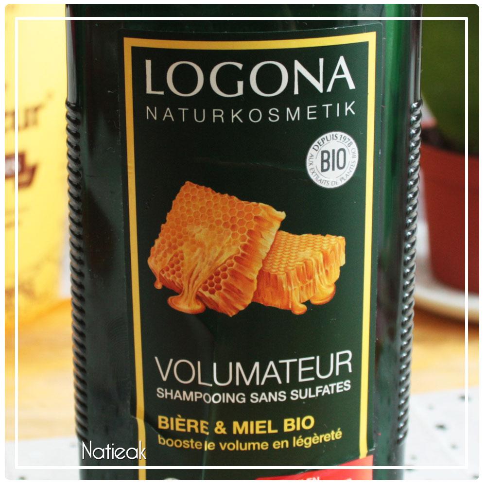 Shampoing volumateur   Bière et miel bio de Logona