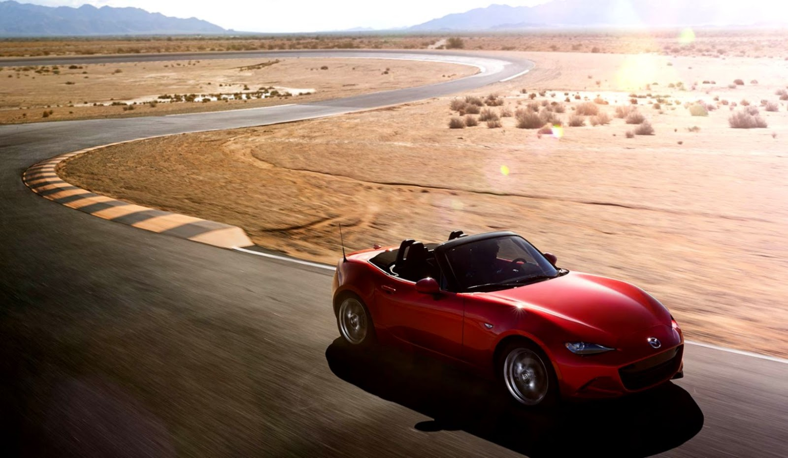 Mazda Miata Mx 5 Road Hd Wallpaper Gandoss Wallpapers