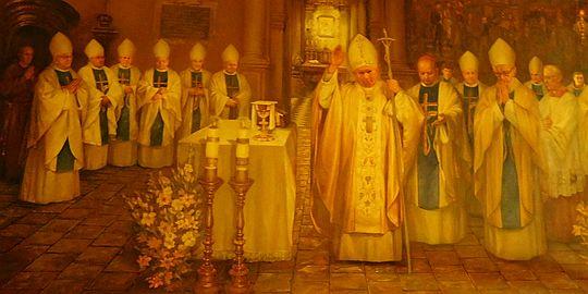 Ostatnia msza w Ojczyźnie Świętego Jana Pawła II.