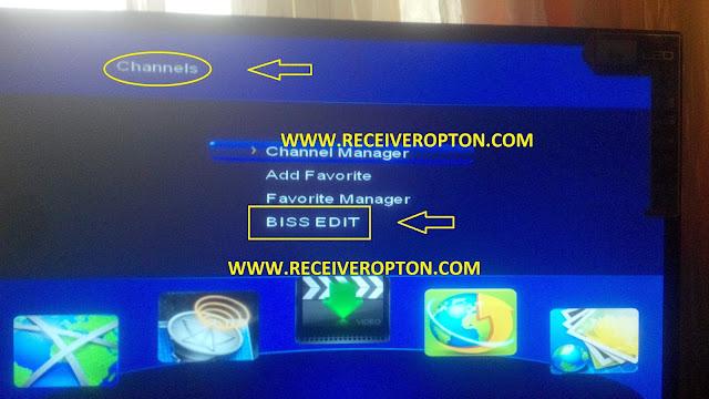 STAR TRACK SR-2013 HD RECEIVER BISS KEY OPTION