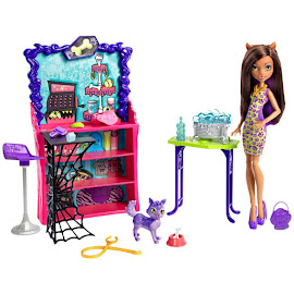 MH Clawesome Pet Salon Dolls