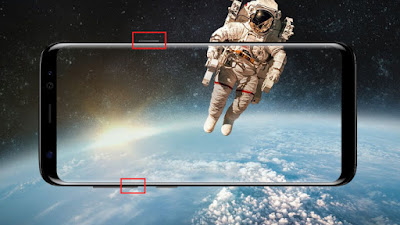 Cara Screenshot Samsung Galaxy S8 Tanpa Aplikasi
