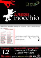 """12 DICEMBRE 2014 SPETTACOLO TEATRALE """"PROCESSO PINOCCHIO"""" AVIGLIANO (pz)"""