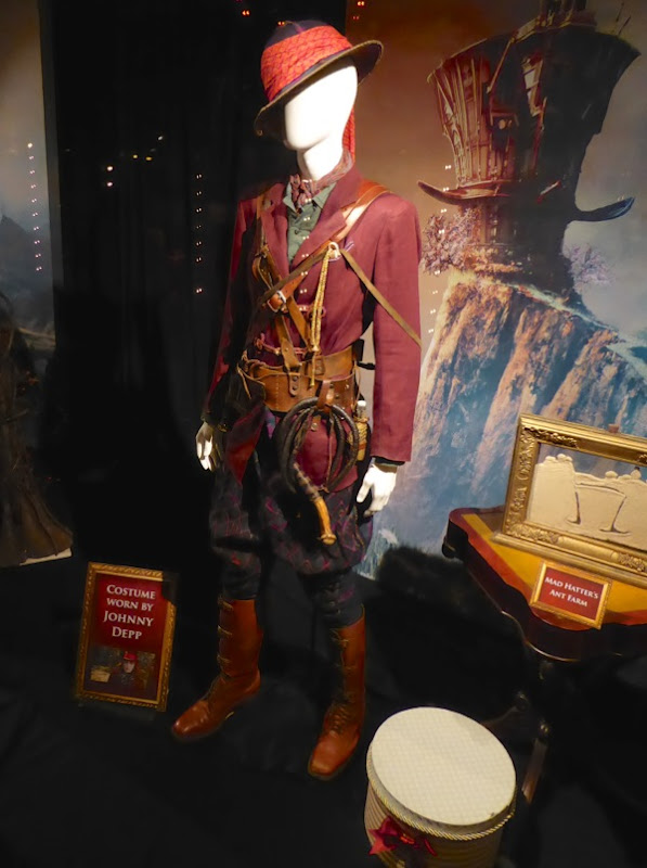 Johnny Depp Alice Through Looking Glass Mad Hatter film costume