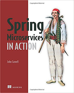 book to learn Spring with Microservice