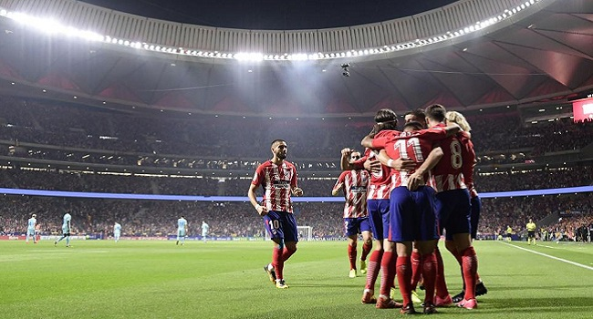 cuplikan gol atletico madrid vs qarabag 1-1