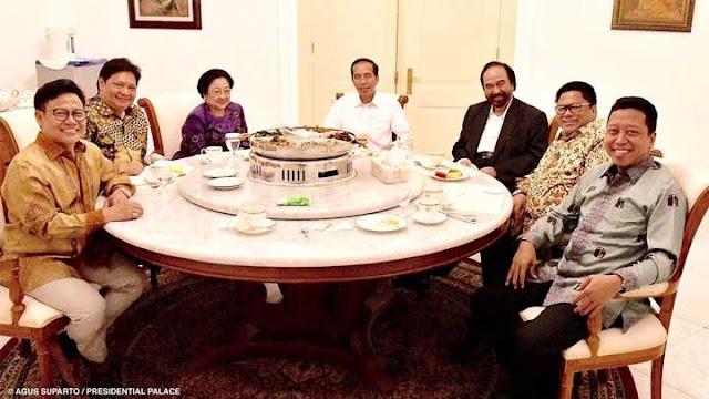 Jadi Nggak Sabar! Nanti Malam Pak Jokowi Akan Umumkan Cawapresnya Ke Partai Koalisi, Ternyata Inisialnya....
