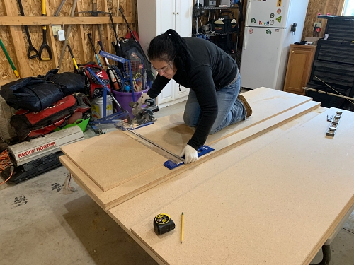 Making my own countertops
