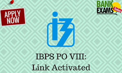 IBPS PO VIII: Link Activated