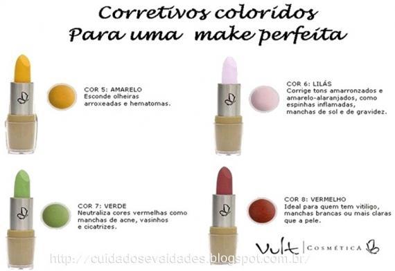 Corretivos Coloridos Vult