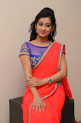 tejaswini sizzling photos in saree-thumbnail-16