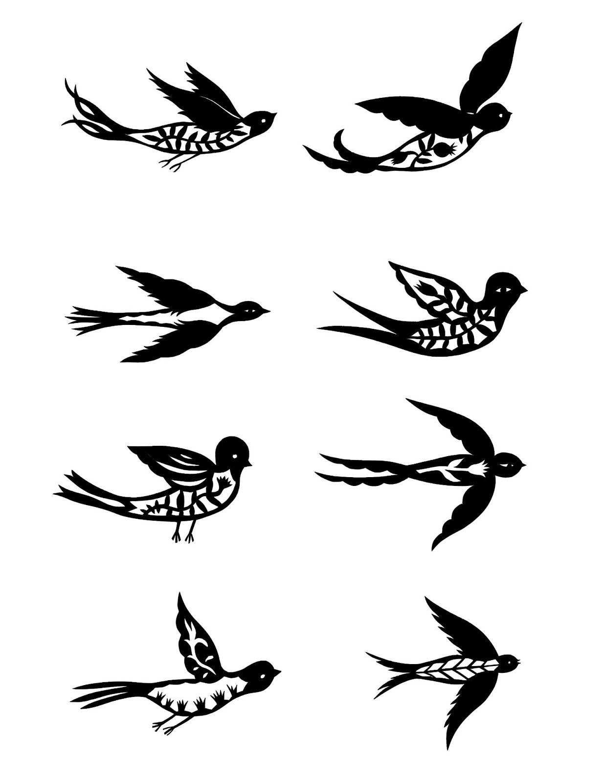 birds tattoos