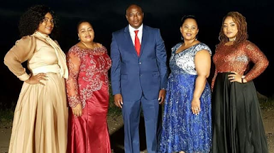 1D - Meet the 43-year-old South African man with 4 wives who wants other men to be polygamous (Photos)