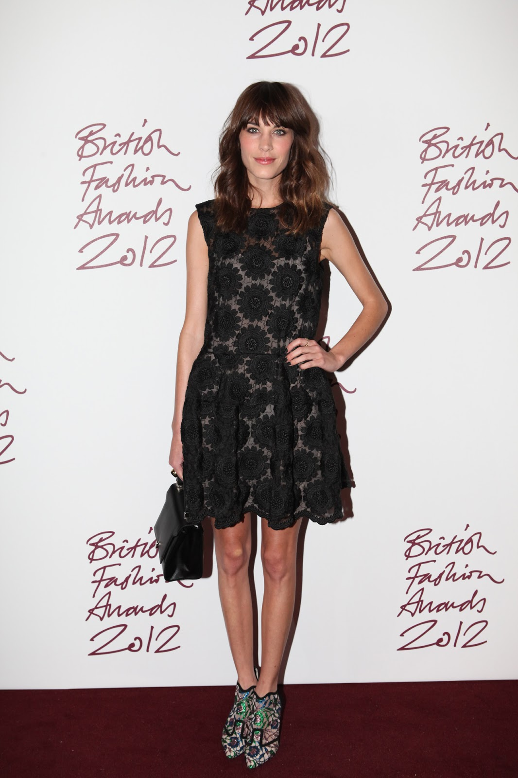 115cf153a0c4 She wore a beautiful Simone Rocha dress and fabulous statement heels by  Nicholas Kirkwood. I adore her style  so effortless