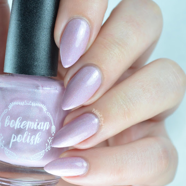 light pink holo