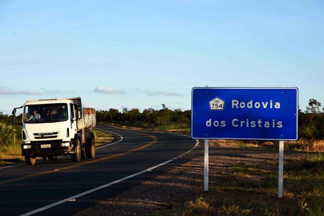Obras na Rodovia dos Cristais foi uma solicitação da população no Fórum Regional de Governo em Curvelo (crédito: Veronica Manevy / Imprensa MG).