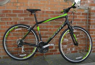 Stolen Bicycle - Scott Metrix