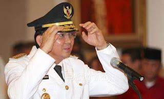 Gubernur DKI Jakarta Basuki T Purnama