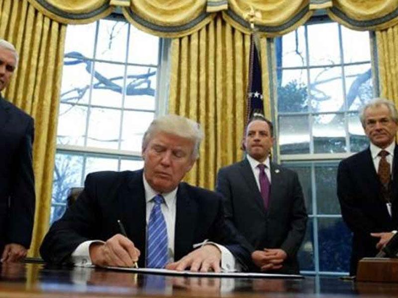 Presidente de EE.UU. rubrica nueva orden sobre inmigración