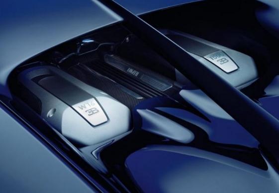 2018 Bugatti Chiron Powertrain