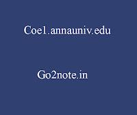COE1.ANNAUNIV.EDU RESULT 2018