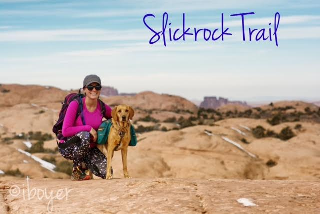 Slickrock Trail Guide, Slickrock Trail Maps, Slickrock Moab, Sand Flats Recreation Area, Hiking in Utah with Dogs