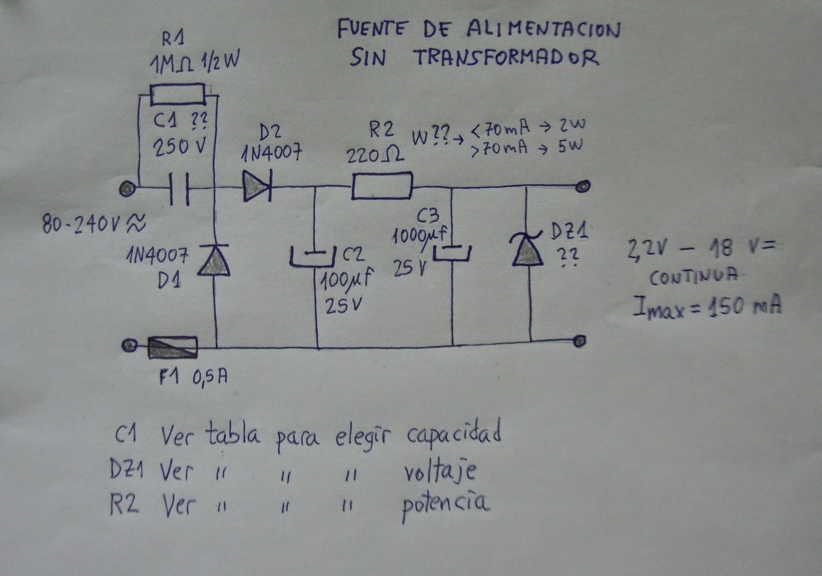 Circuito Zener : Ciencia inventos y experimentos en casa: circuitos Útiles. 04