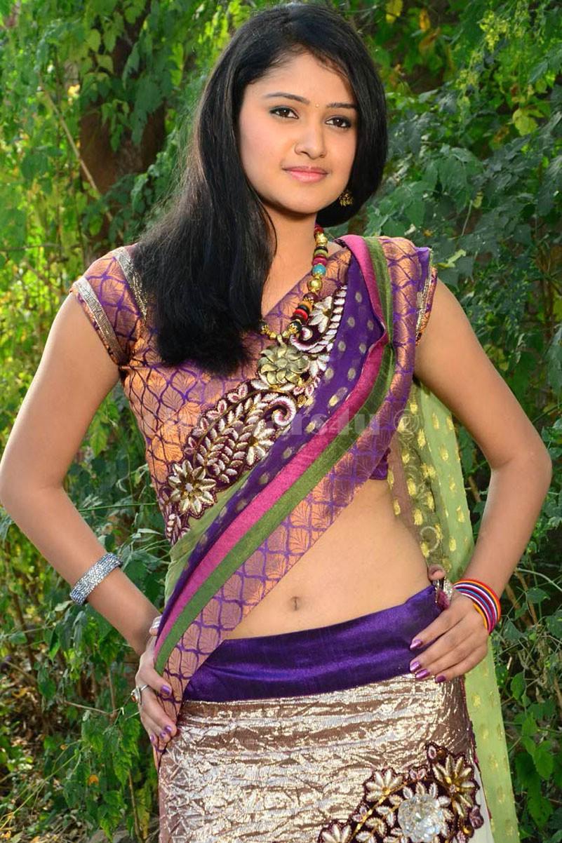 Kousalya Hot Navel Show Images-2474
