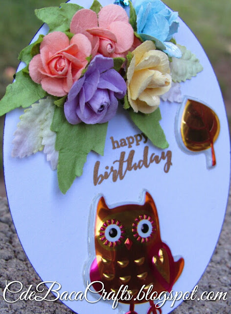 Owlmazing Card and Gift Tag Set_CdeBacaCraftsCard