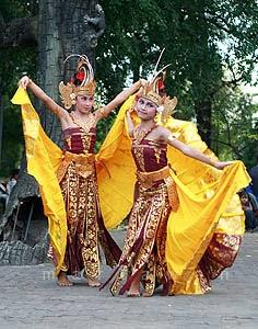 Tari Tradisional Bali - Tari Cendrawasih