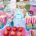 Prepara un buffet de dulces con tema de circo