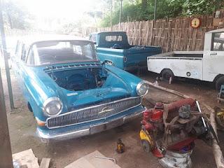 Forsale Opel Kapitan 1961 Rebuild