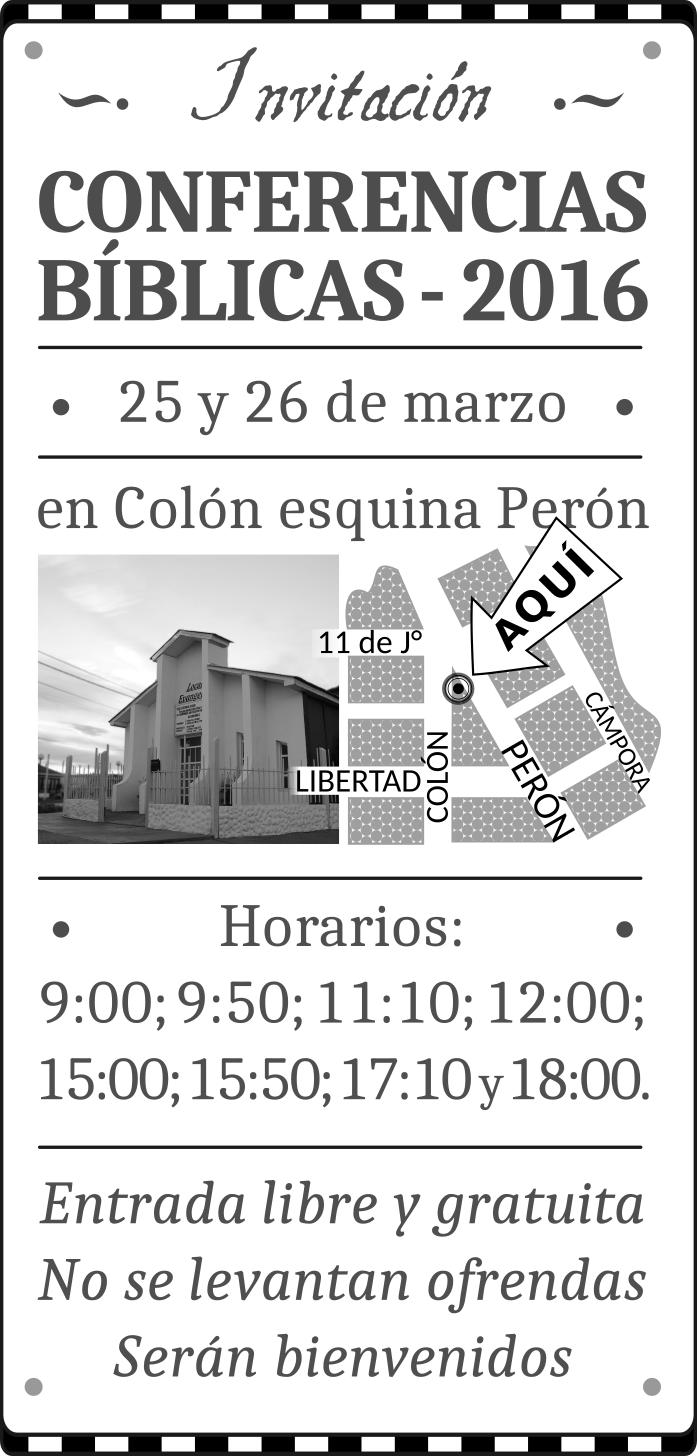 Iglesia Cristiana Evangélica De Río Grande Invitaciones A