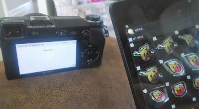 Menghubungkan Perangkat Dengan Kamera