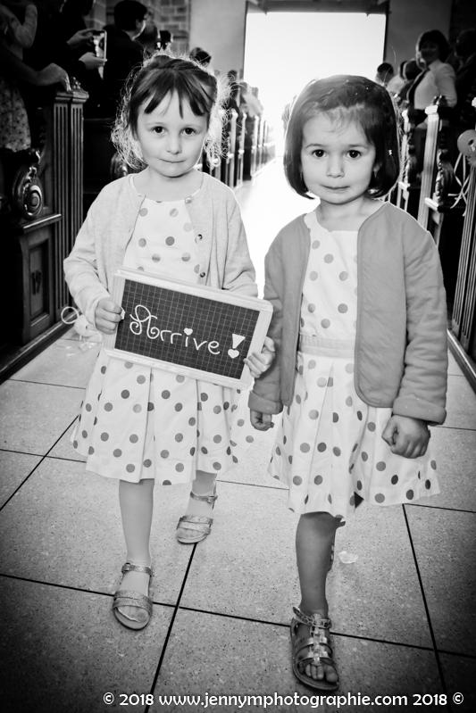 photo enfants d'honneur