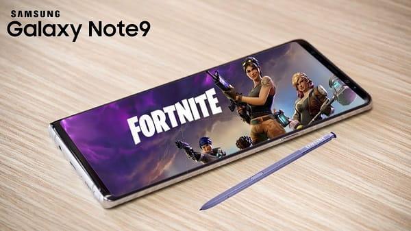 مفائجة غير متوقعه في هاتف Galaxy Note 9  لعبة Fortnite قادمة ولكن !