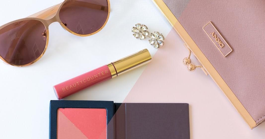 0c300bb2f3 Tested  Beautycounter Powder Blush Duo in Flamingo Apricot   Moisturizing  Lip Gloss in Peony
