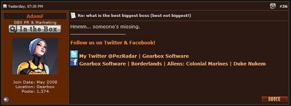 The Huh?: Borderlands 2: Possible Hidden 3rd Invincible in DLC??