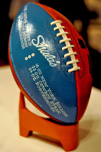 Football - Shula's Steak House - Center Valley, PA   Taste As You Go