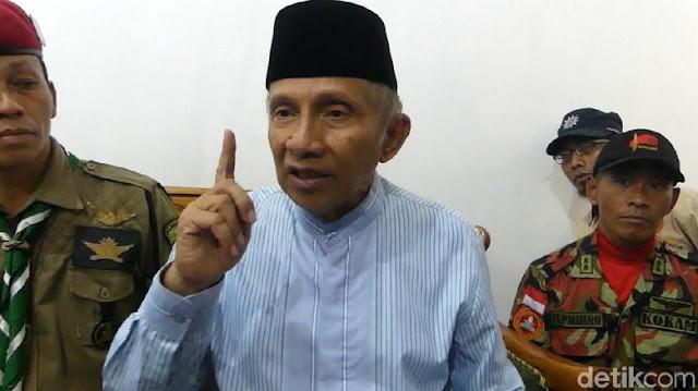 Amien Rais Minta Jokowi tak Libatkan Asing dan Aseng di Pilpres