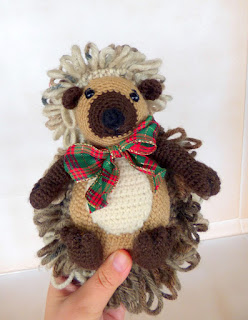 Crochet Pattern Amigurumi Hedgehog