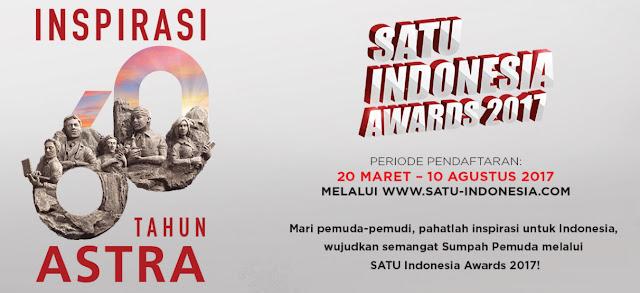 SATU Indonesia Award, Dari Astra Untuk Generasi Muda Indonesia Penerang Bangsa