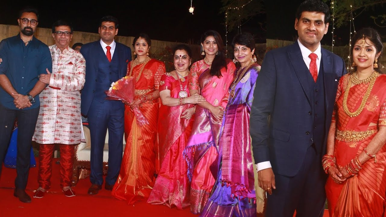 Star Studded Wedding Reception Of Y Gee Mahendra Son Harshvardhan