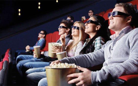 sinemada film izlemek