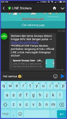 Keyboard di Smartphone