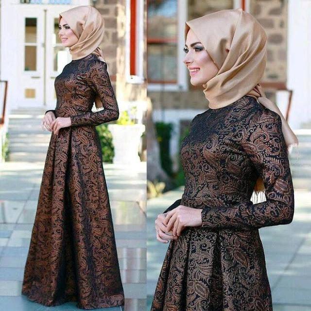 Inspirasi Gaun Muslimah Cantik dan Trendy 2001606