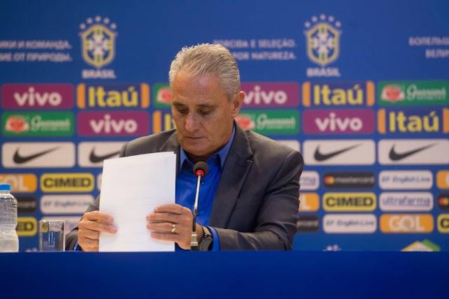 Seleção Brasileira: confira os 23 jogadores convocados por Tite para a Copa do Mundo