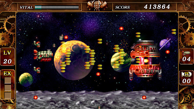 Steel Empire - PC Steam version - On the moon