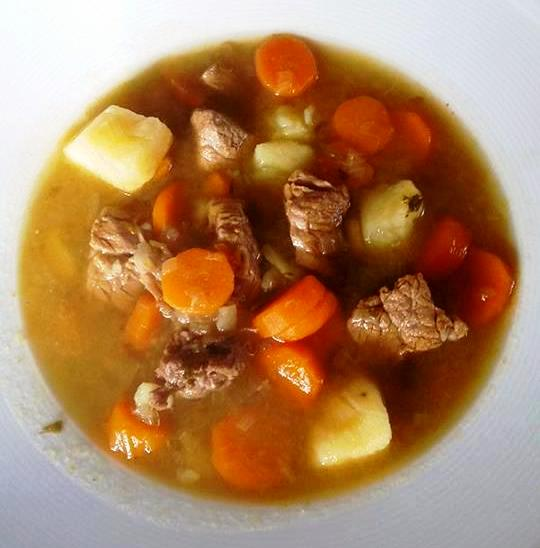 Kreatosoupa:  Traditional Greek Meat Soup, Made With Beef