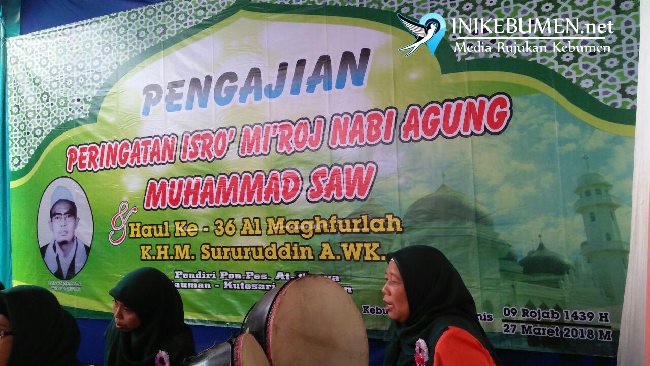 Ponpes At-Taqwa Kebumen Gelar Haul Tokoh Angkatan Oemat Islam